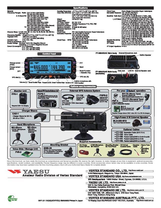 (停產) YAESU FTM-350AR