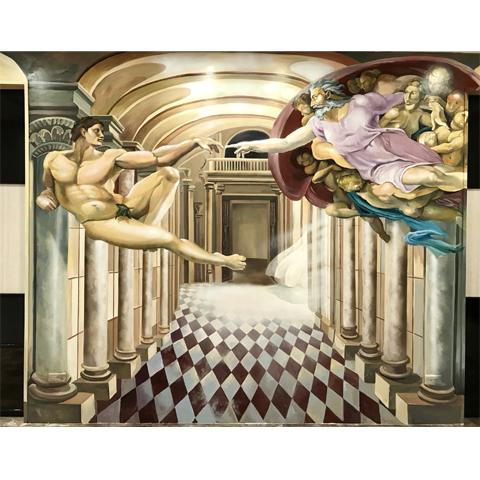 桃園壁畫-創世紀