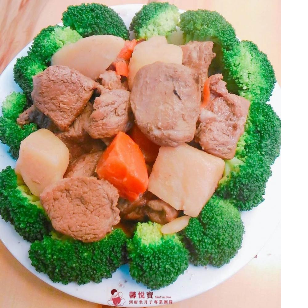 馬鈴薯滷肉