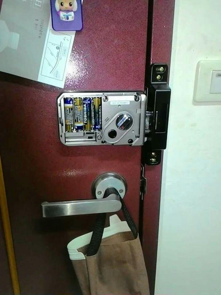 各國進口電子鎖安裝