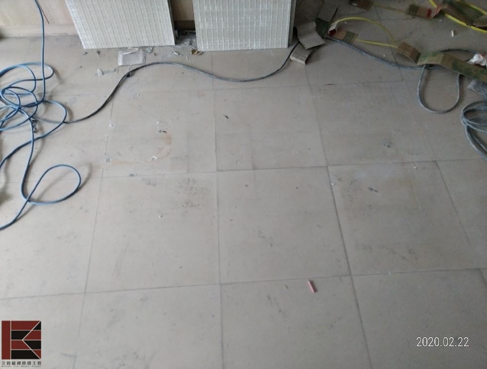 竹北地磚修補