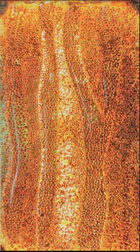 鋼板熱熔壓花玻璃