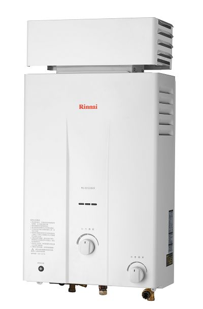 屋外抗風型 林內牌熱水器 RU-B1221RF 12L