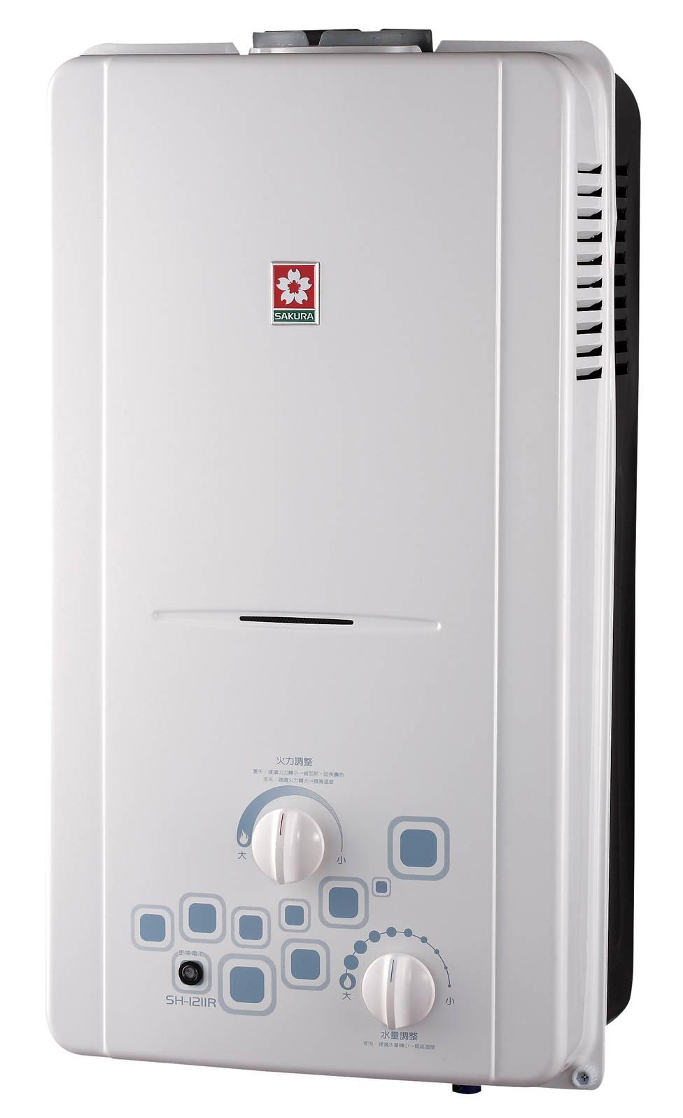 大廈專用 12L 櫻花牌熱水器