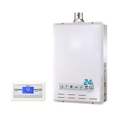 智能恆溫24L 櫻花牌熱水器DH-2400
