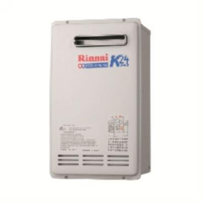 屋外型潛熱回收熱水器24L 林內牌進口熱水器REU-K2402W-TR