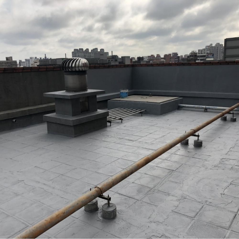 桃園防水-頂樓防水隔熱工程 試水驗收成果