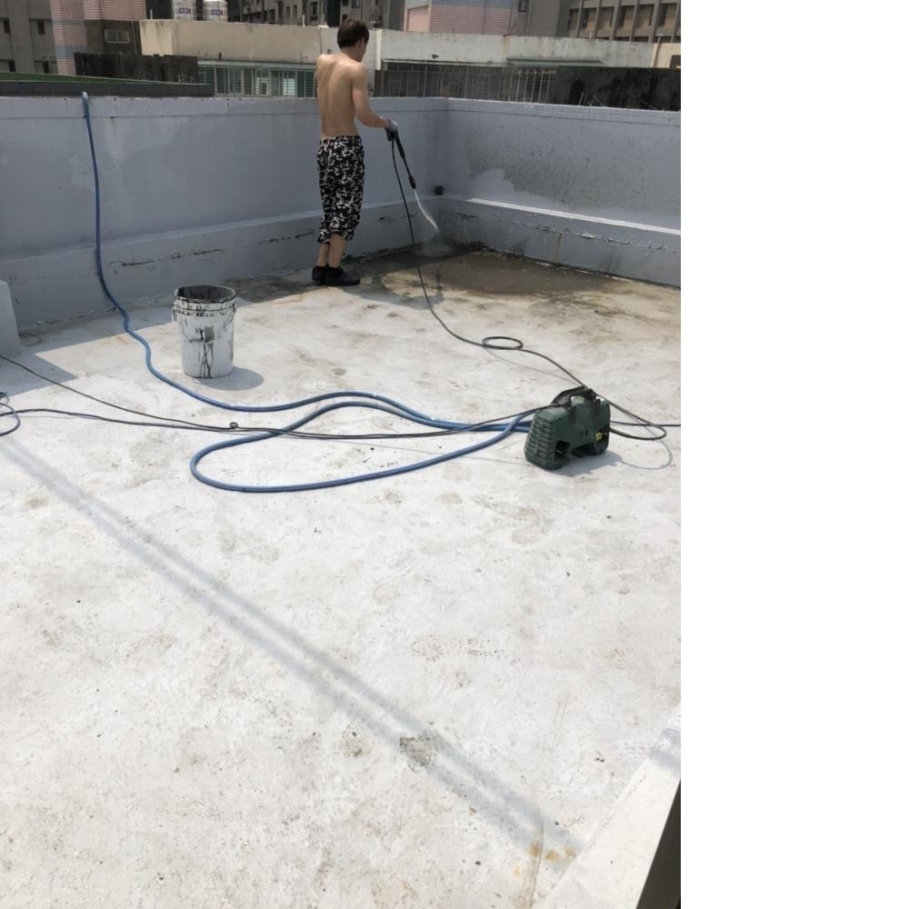 桃園防水-內壢區頂樓防水隔熱工程