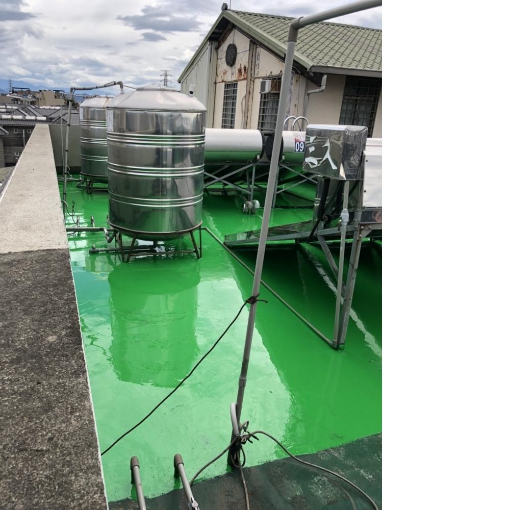大溪區頂樓油性Pu防水工程