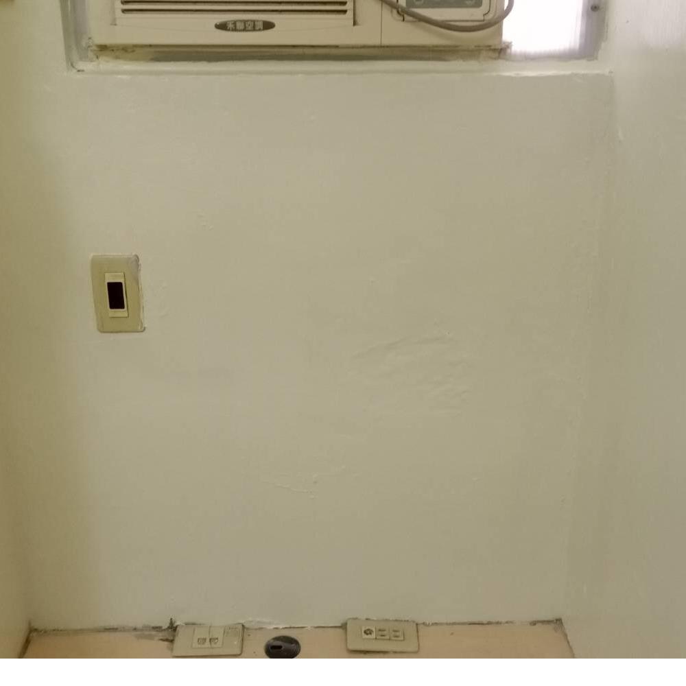 桃園高壓灌注打針止水含壁癌油漆復原冷氣窗下牆面下雨滲水