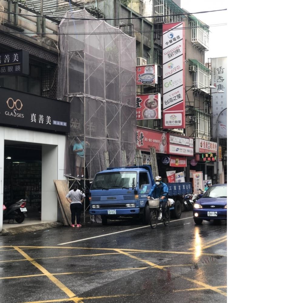 桃鶯路店面外牆翻修工程