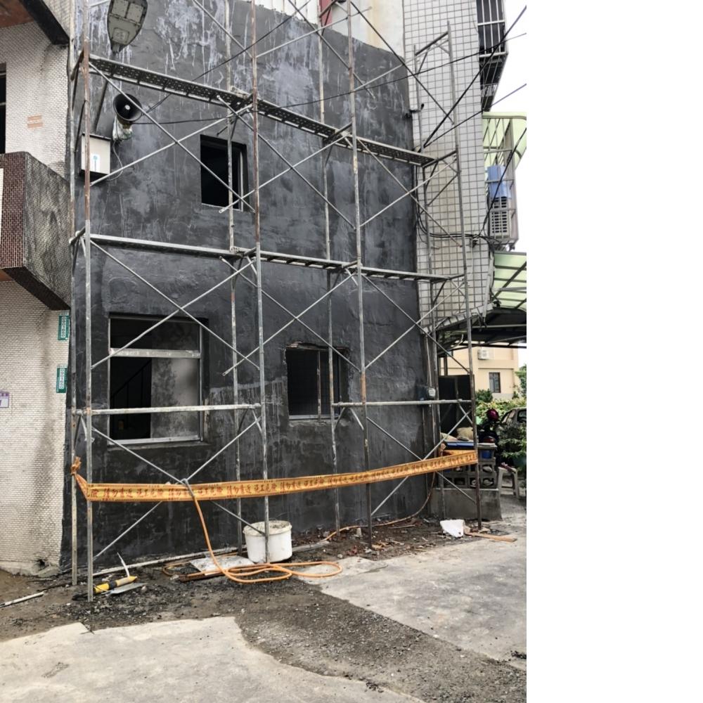 桃園老屋翻新-外牆防水