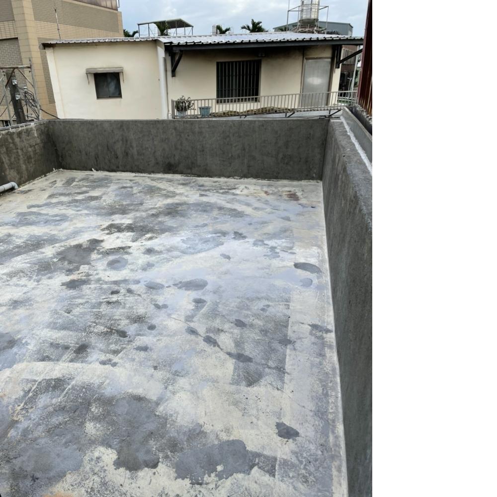 八德區頂樓防水工程貼附抗裂網