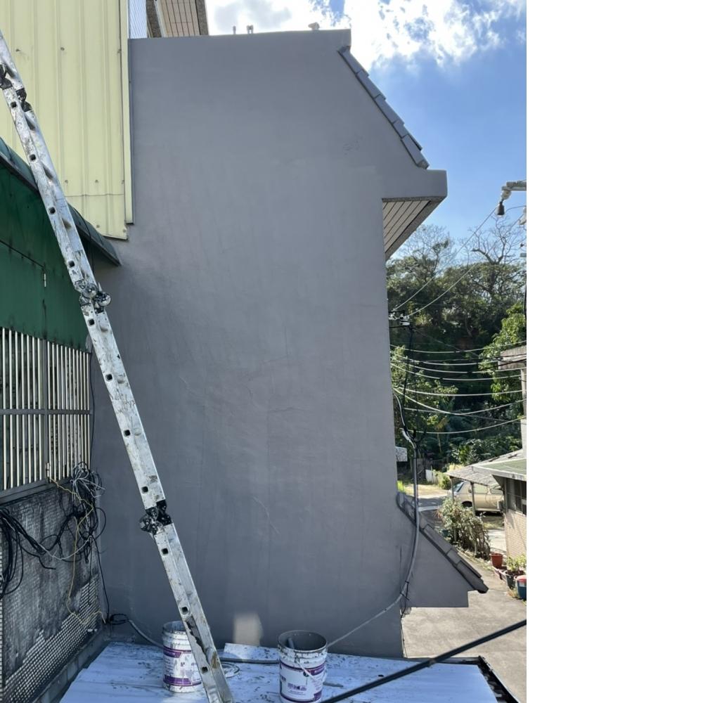 桃園蘆竹區側外牆防水工程