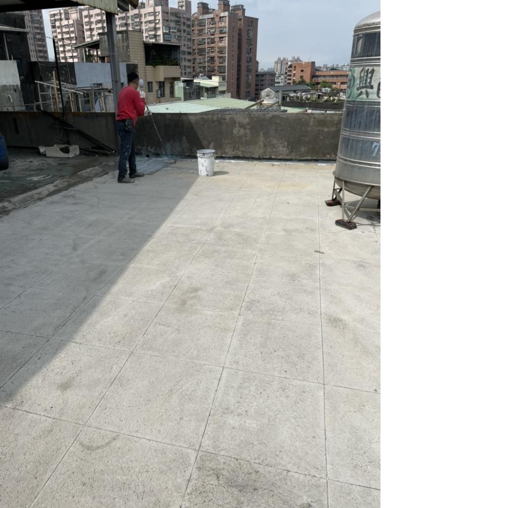 樹林區頂樓地坪防水工程