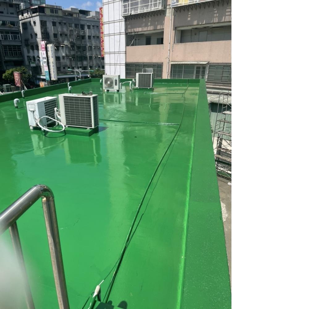 龜山區汽車旅館400坪頂樓Pu保養工程