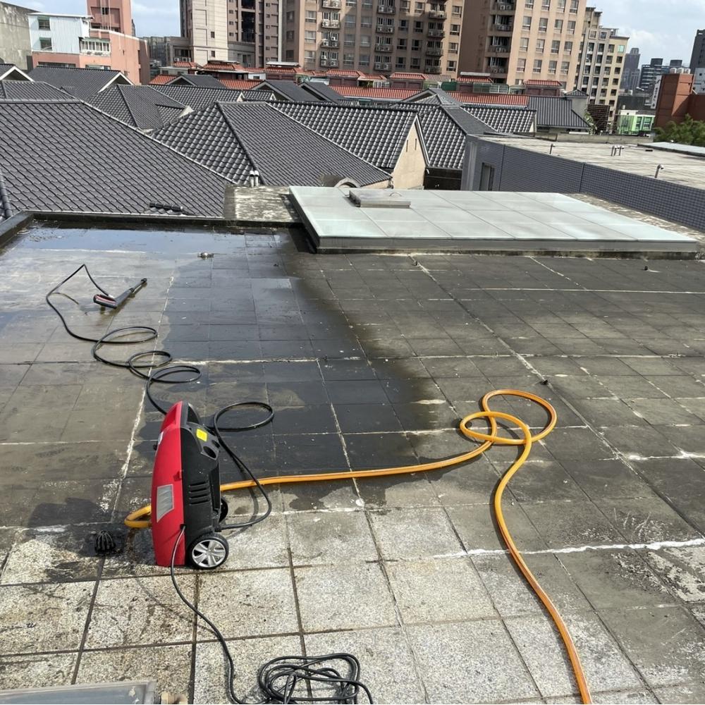 桃園區頂樓地坪防水工