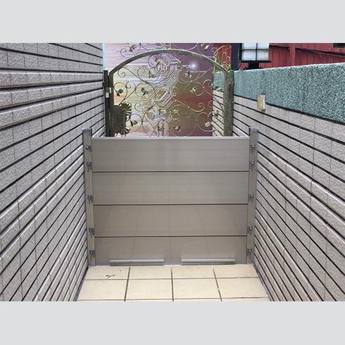 私人住宅-擋水門