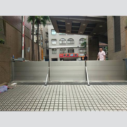 社區大樓-擋水門