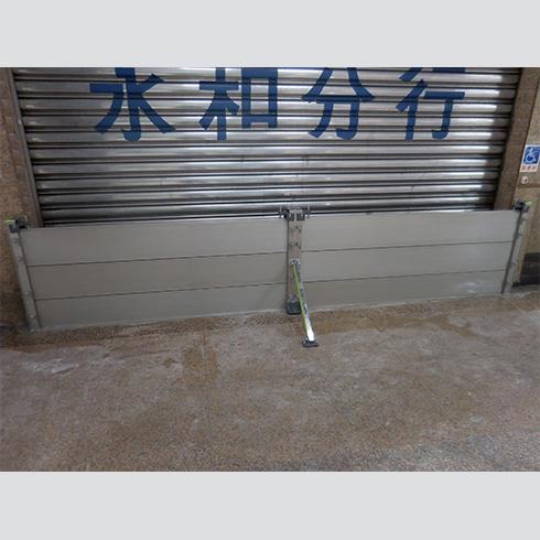 銀行-擋水門安裝