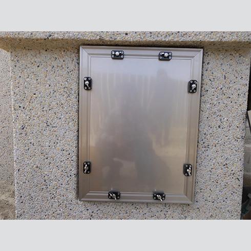 整片式氣窗閘門