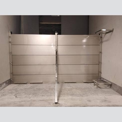 桃園機場-擋水門安裝