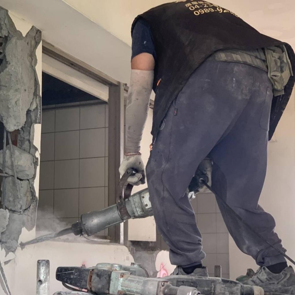 台中拆除工程整修