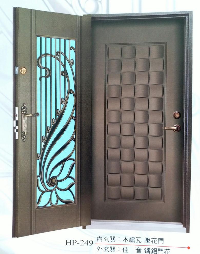日式雙玄關門HP249