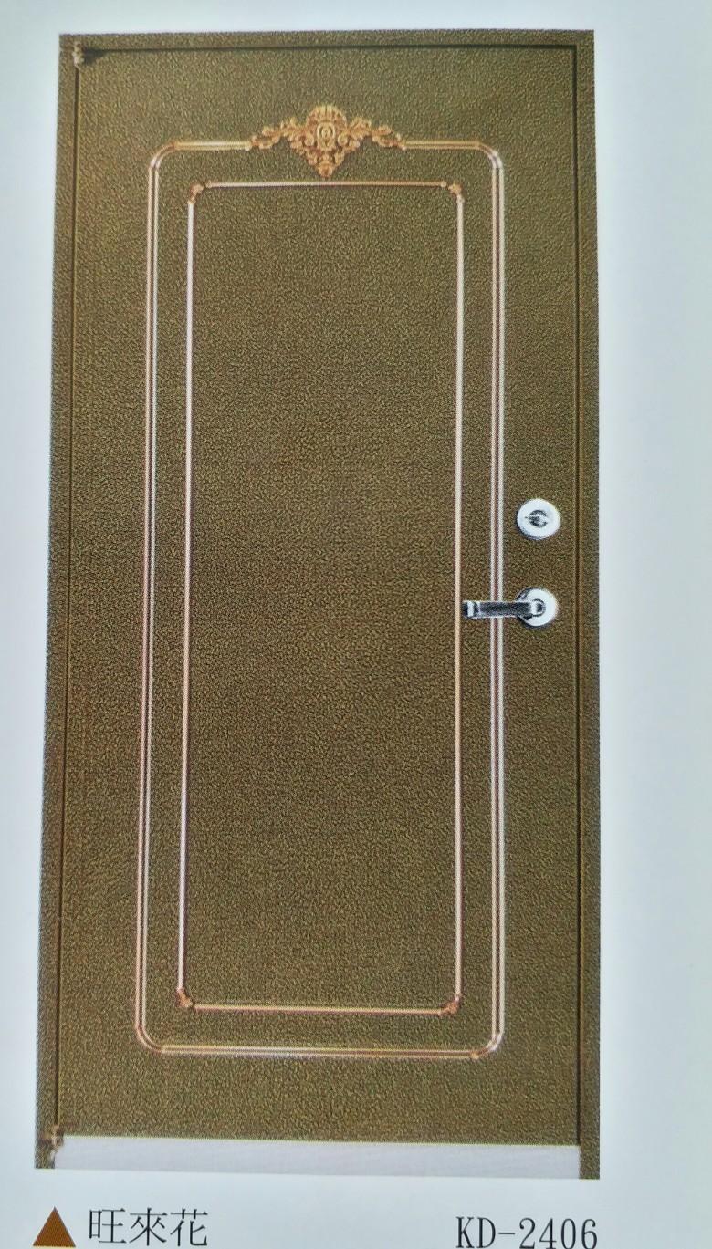 旺來花黃古銅90x210cm-硫化銅門