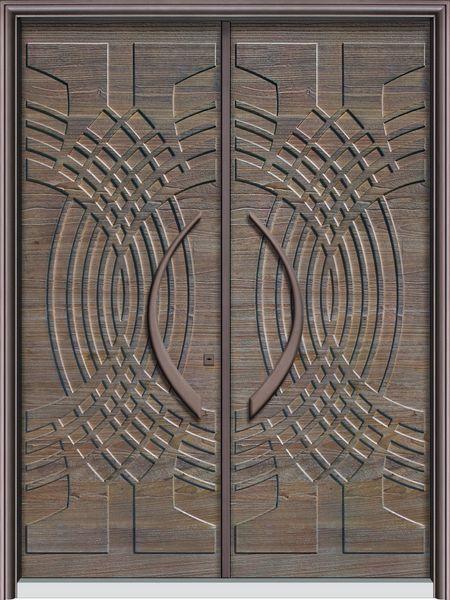 T5096風格交織-鋼木門系列