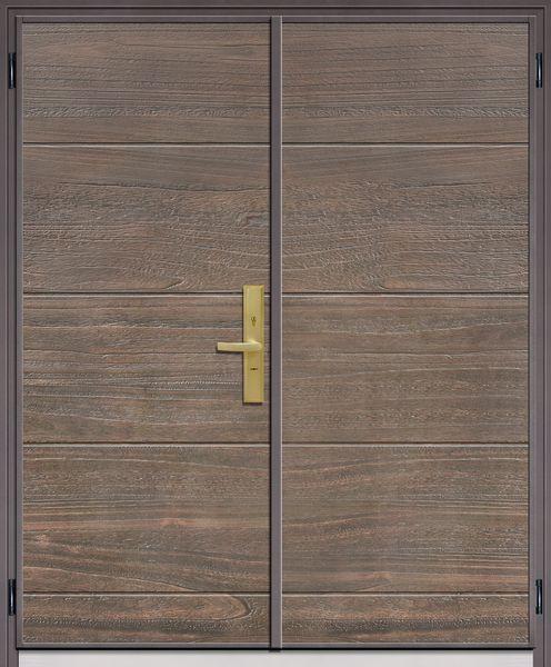 T5796風華橫溝-鋼木門系列