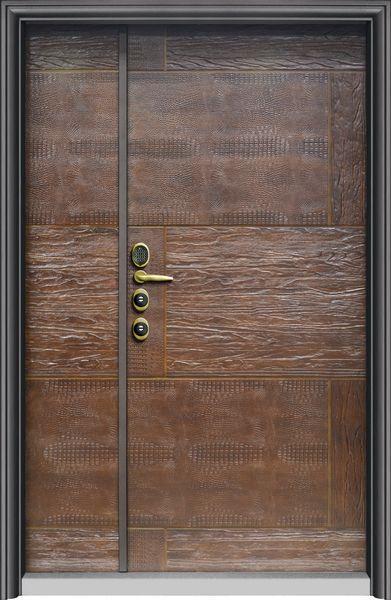 T2087風尚皮雕-鑄鋁門系列