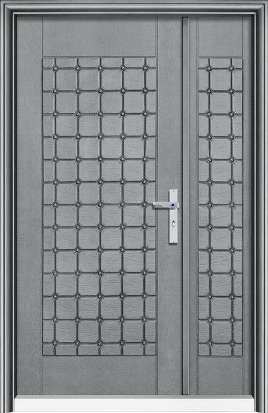 T2094雅麗皮雕-鑄鋁門系列