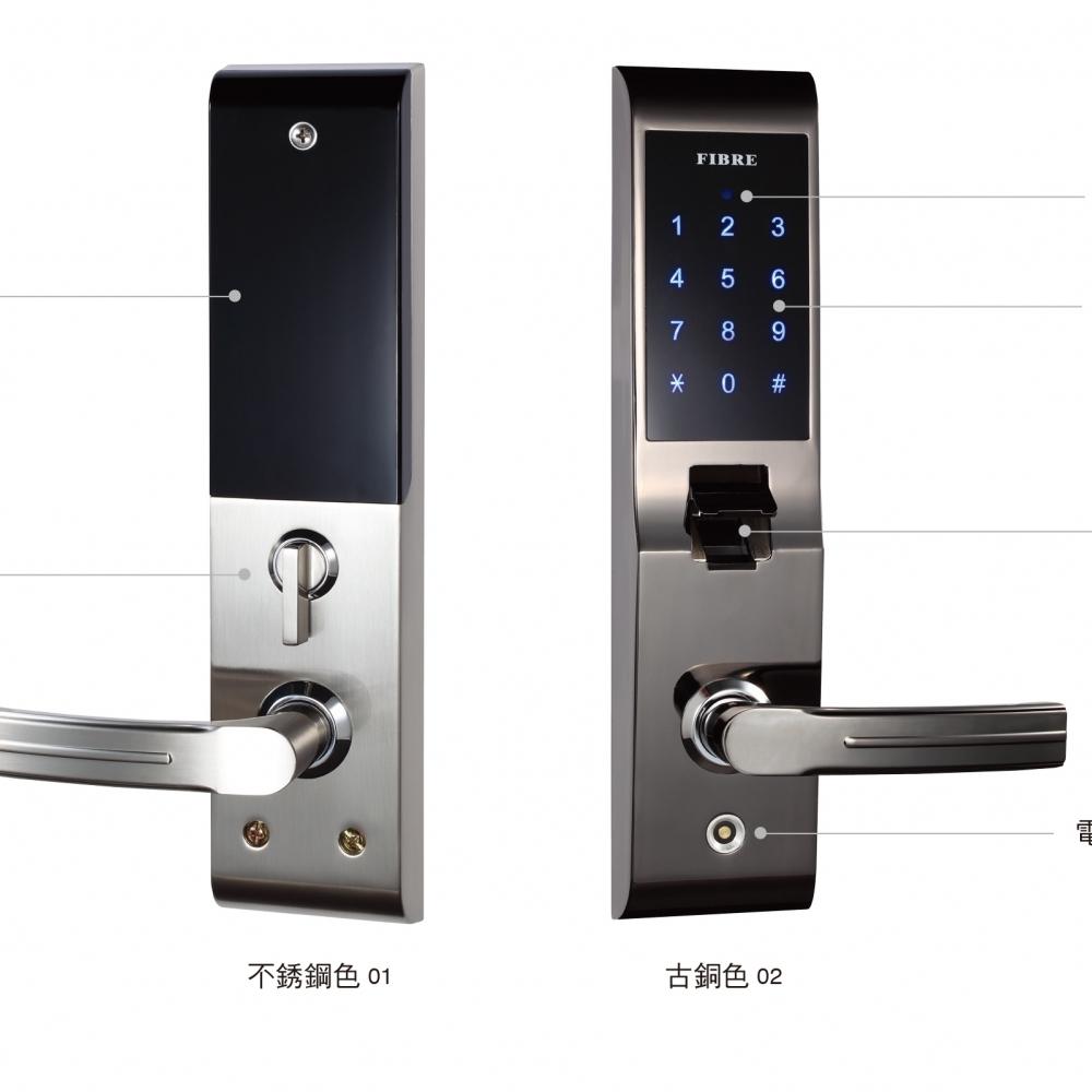 FB82-02指紋辨識鎖
