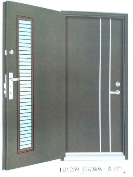 雅緻雙玄關門HP25