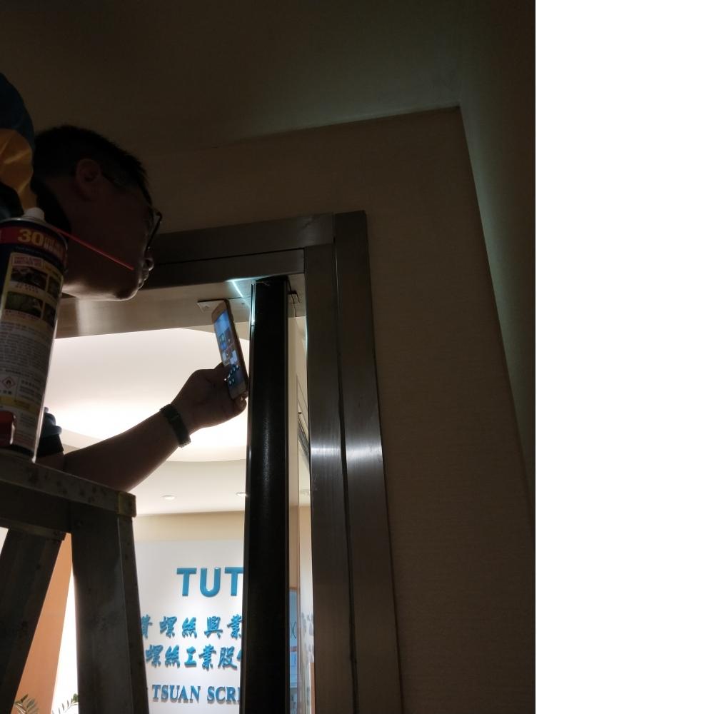 維修防火玻璃門