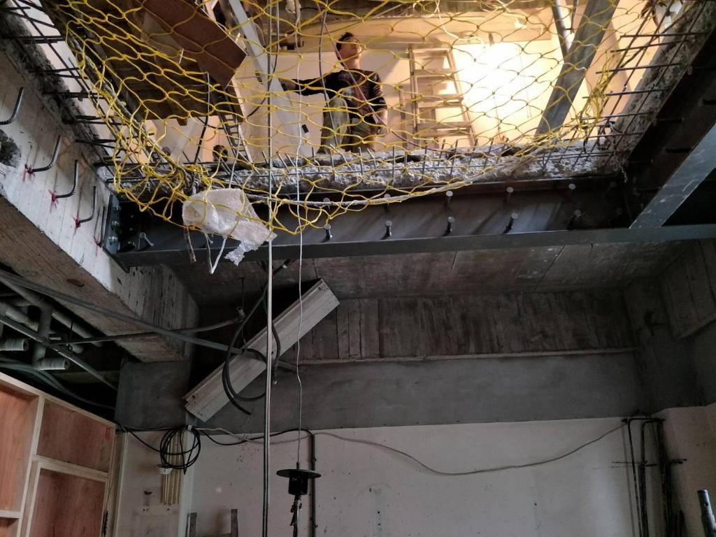 鋼構工程-鋼構補強