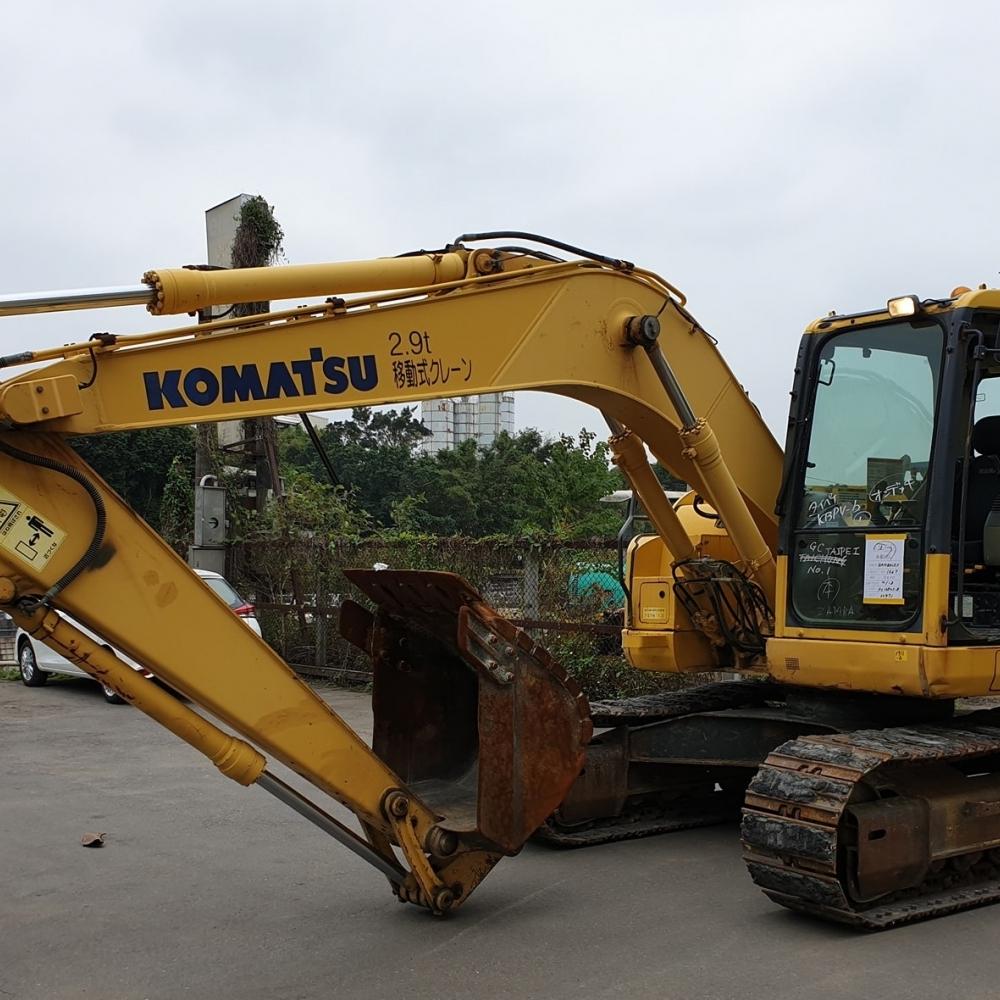 KOMATSU  PC138US-8