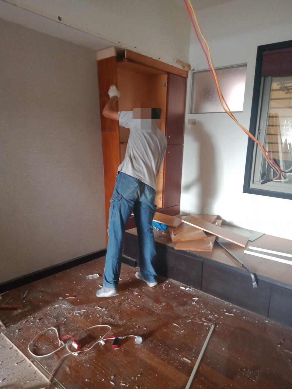木地板拆除高雄