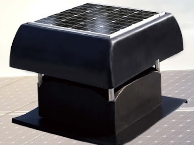 太陽能抽風扇-26吋