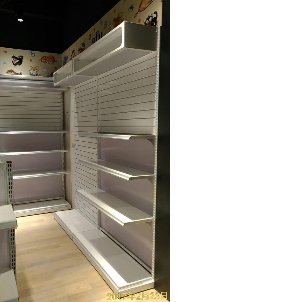 槽板架+燈箱+抽屜