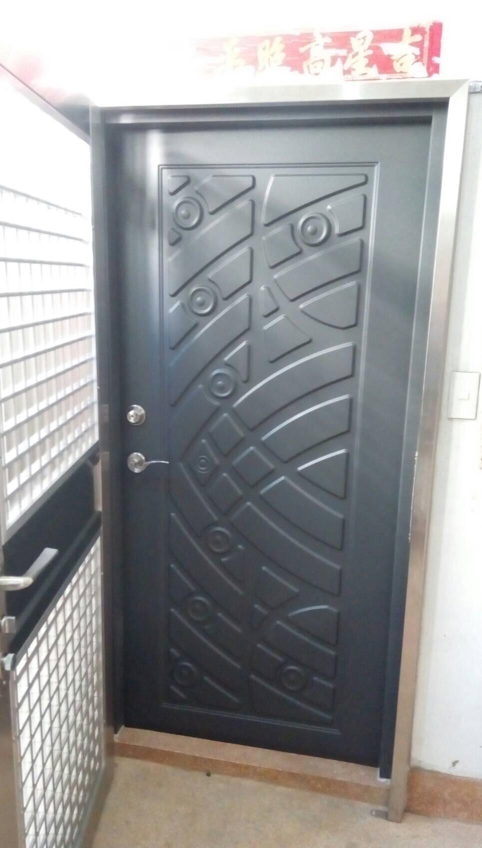 不鏽鋼鐵門及通風防盜
