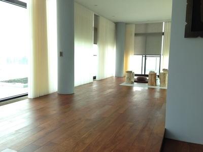 紳格室內裝修設計_緬甸柚木實木地板(自然塗裝) _規格:5寸X6分 緬甸柚木實木樓梯板(單片) _鐵木室外材
