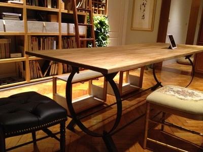 簡約設計_白櫸木集成實木桌