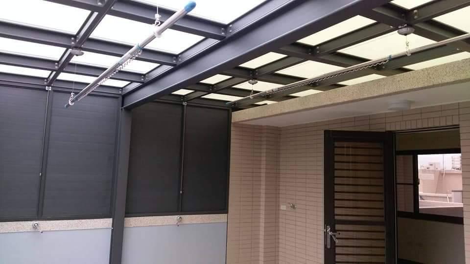 玻璃屋採光罩