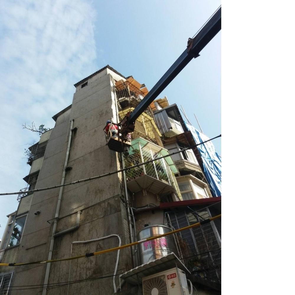 新北士林區葫蘆街144號_外牆補強防水工程