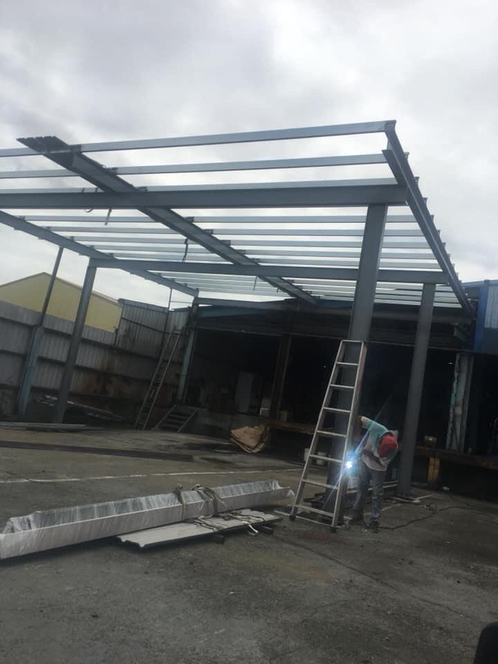 鋼構鐵皮工程