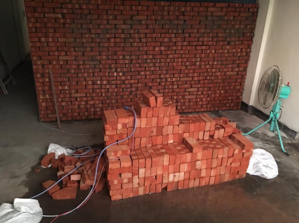 砌磚隔間工程