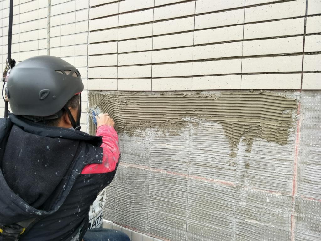 外牆磁磚剝落補丁