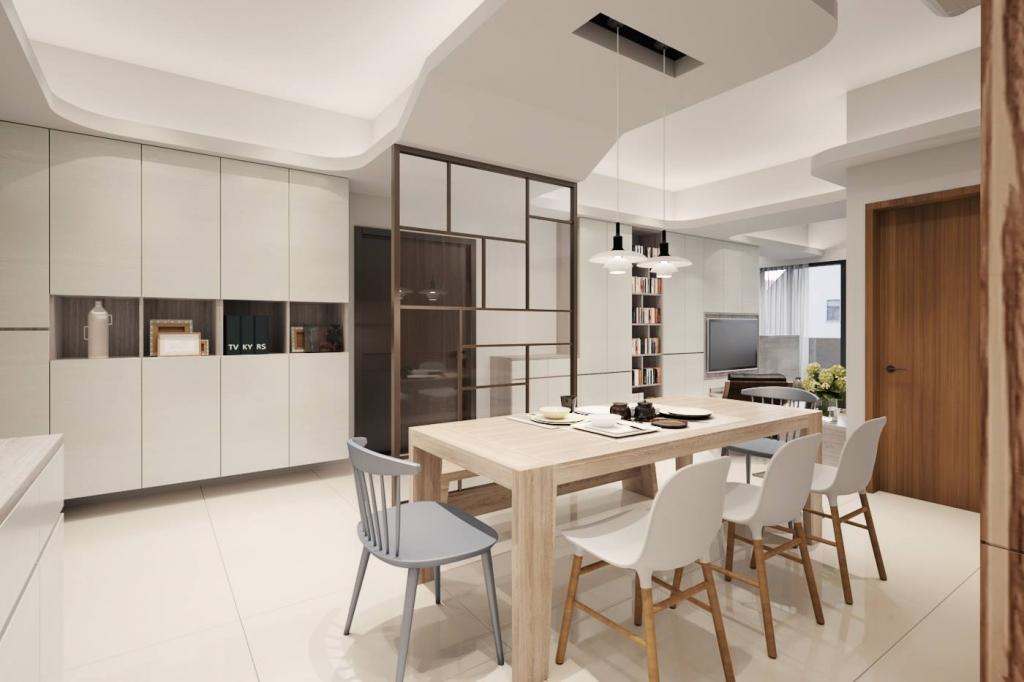 流暢穿透的空間 讓家更顯開闊大器